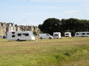 Travellers on Beach Lawns.