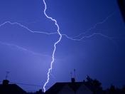 Lightening Bolt taken of the Thunder storm this morning 4.25am  19/07/2017