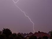 Lightning very very frightening