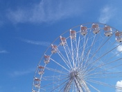Big wheel on Weston-super-Mare seafront