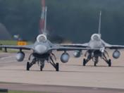 Visitors at RAF Lakenheath
