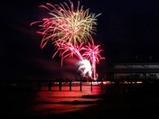 Felixstowe carnival fireworks :)