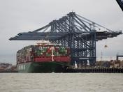 more felixstowe sea traffic