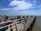 New Felixstowe Pier opens (partially), Saturday 29 July 2017