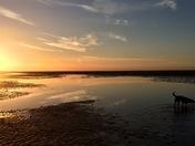 Wells beach at sunset....