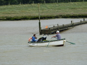 Head Wind at Butley Ferry