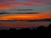 Colourful. Sunset