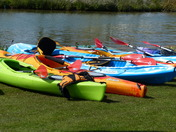COLOURFUL. CANOES