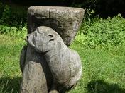 Carving at Needham lake