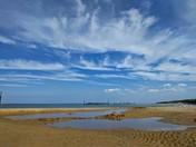 Clouds at Sea Palling beach