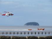 RNLI & Coastguard by Marine Lake