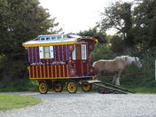 Romany caravan at Stiffkey