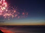 Fireworks at Cromer Carnival