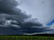 Norfolk storm clouds
