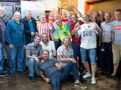 Craig cutting charity darts league raise £1700 for local causes