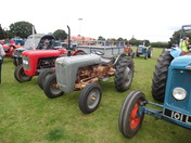 Tractor run Kirton recreation ground