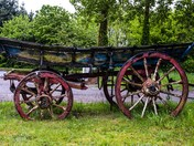 Old Haycart at Fritton lake entrance