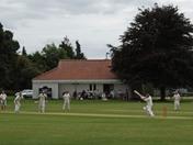 Village cricket at Lavenham