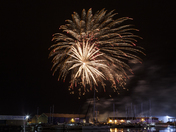Ipswich Maritime Festival 2017 Fireworks display