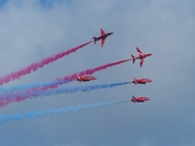 DAYS OUT. Cromer Carnival Red Arrows