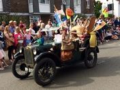 Snippets from Aldeburgh Carnival