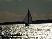 Sunsetting over the River Orwell