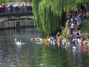 Unexpected Entry to the Norwich Duck Race