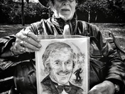 Artist in Clarence park