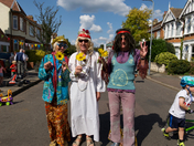 Street Party on Clavering Road, E12