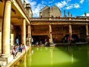 Roman Bath, Bath, UK.