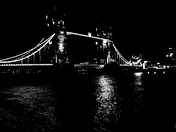 Night, Bridge, London