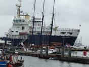 Vessels off Halfpenny Pier