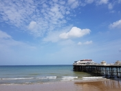 Cromer at lunchtime on 7th September 2017
