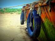 1, Rust never sleeps 2, Dragon Fly in mono. 3, Owls.  Ship wreck on Instow beach