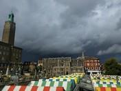 Rain cloud over Norwich