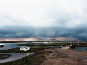 Stormy clouds over Blakeney
