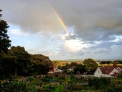 Rainbow over Clevedon