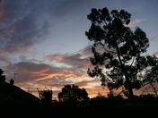 Windy September sunrise