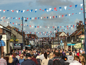 Crowds come out in Sheringham