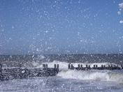 Contrast - Wild sea at Walcott