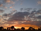 Sunset Over Tuddenham
