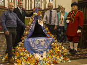 Harleston Town Crier's Bell dedicated as a Peace Bell.