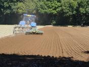 Aurumn  ploughing.