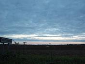 Evening Suffolk sky.