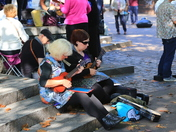 Ukulele Group in Town