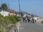 Along the prom on an early Autumn day