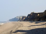Weybourne cliffs