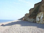 Weybourne cliffs