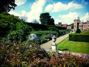 Garden walk at blickling