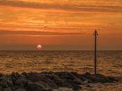 Autumnal sunrises in Felixstowe
